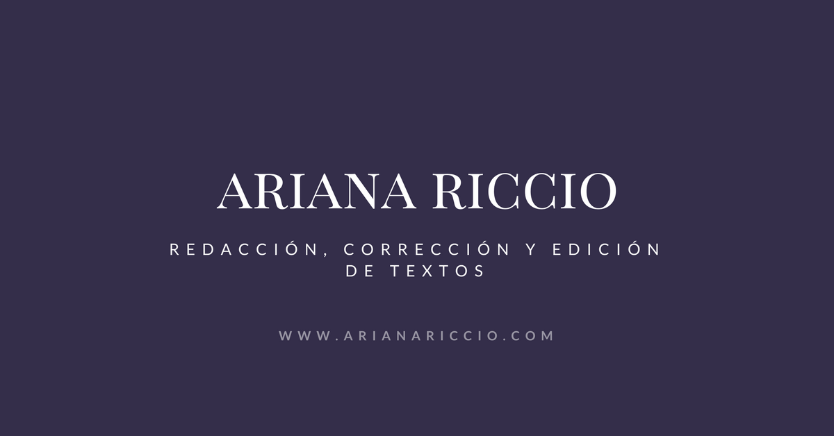www.arianariccio.com